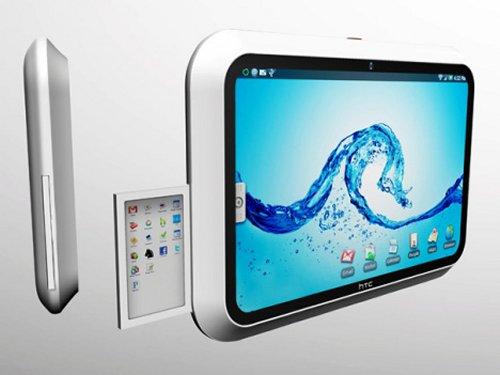 Концептуальный планшетный ПК HTC Evolve