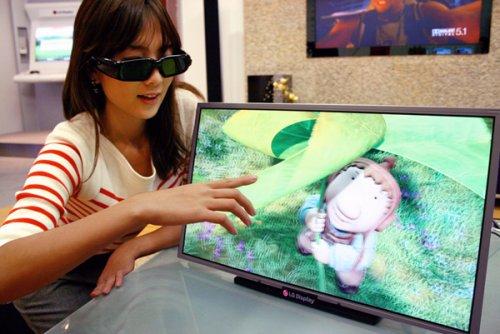 Первый Full HD 3D LCD монитор от LG