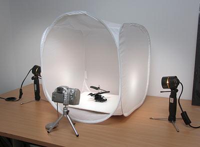 Мобильная фотостудия - для фотографий без теней