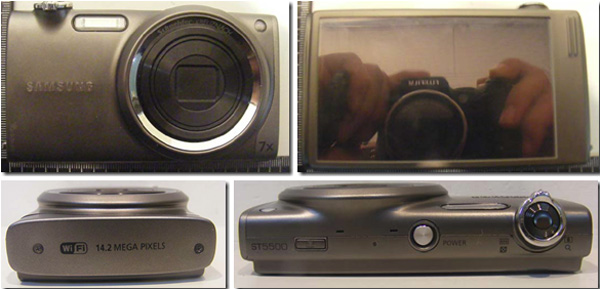 Samsung ST5500 - 14,2 мегапикселя и HD видео