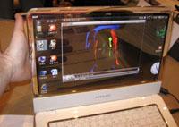 Прозрачный OLED дисплей от Samsung