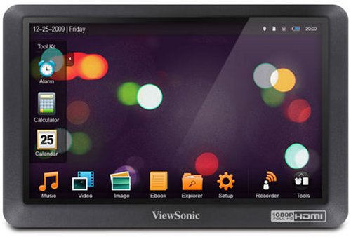 HD медиаплеер Viewsonic MovieBook VPD550T