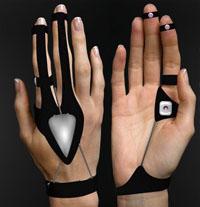 Концепт мыши-перчатки