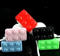 Наушники в виде кубиков Lego