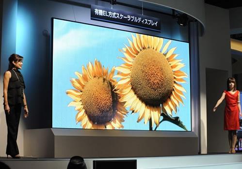 Гигантский OLED-дисплей от Mitsubishi