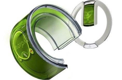 Nokia подала новый патент на концепт телефона Morph