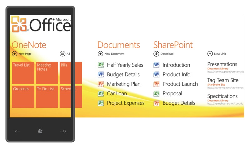 Компания Microsoft представила Windows Phone 7 Series