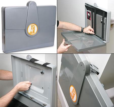 DormVault Laptop Safe: надежная защита для ноутбука