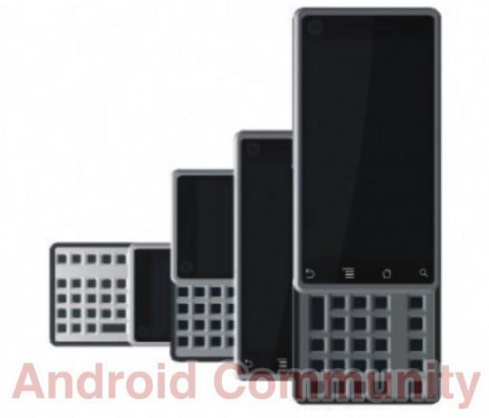 Новый Android-смартфон Motorola MOTOSPLIT с клавиатурой QWERTY