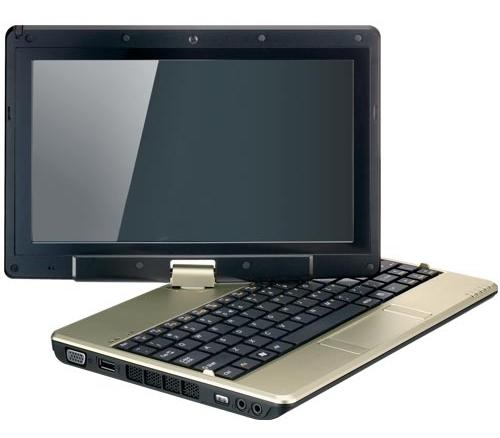 Gigabyte TouchNote T1000 нетбук-планшет на базе Atom N470