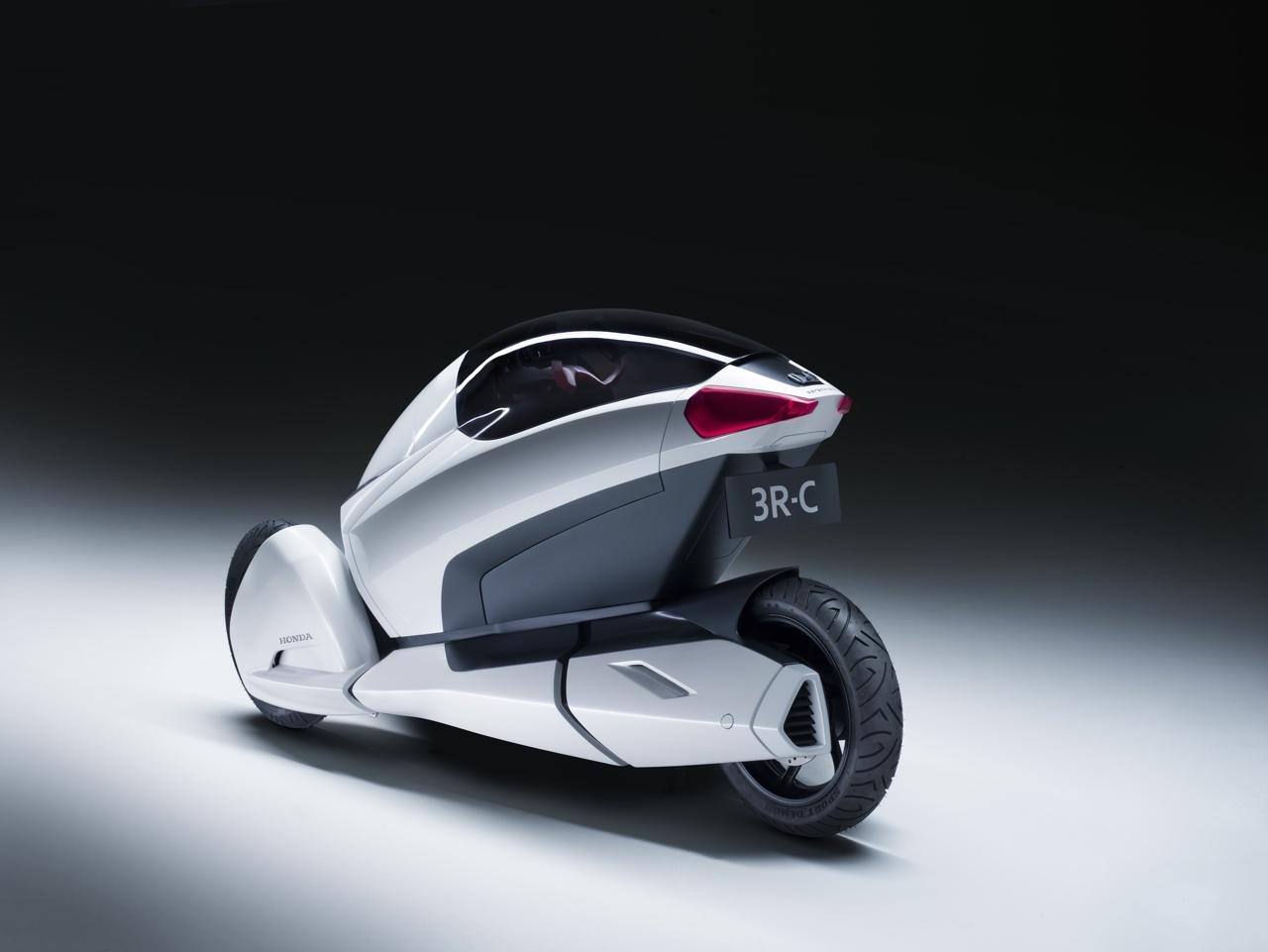 Концепт персонального транспортного средства 3R-C от Honda