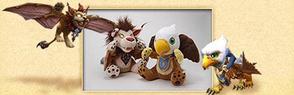 Плюшевый птенец из World of Warcraft