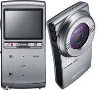 Карманные камкордеры Samsung будут снимать в HD