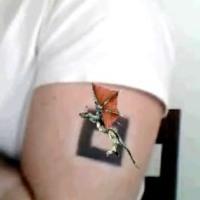 Дополненная реальность в татуировках