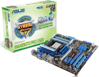Компания Asus представила материнские платы с поддержкой шестиядерных процессоров AMD