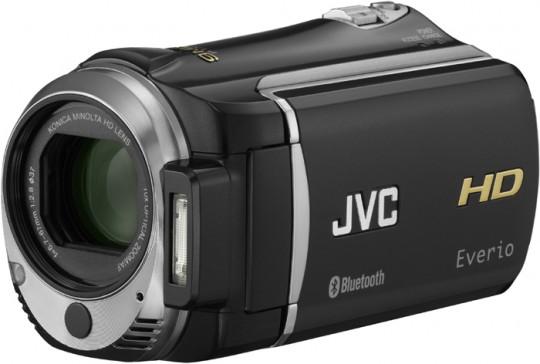 JVC Everio GZ-HM550: видеокамера Full HD с поддержкой Bluetooth
