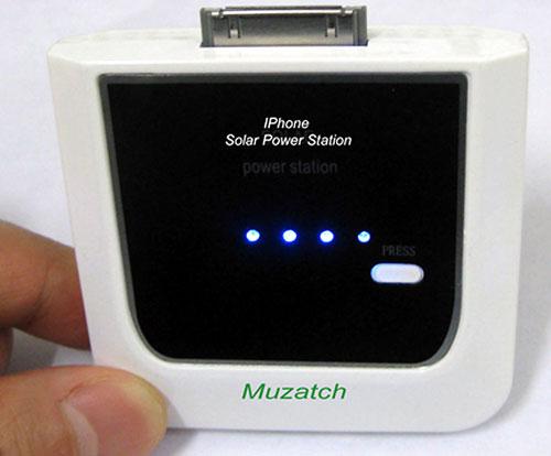 Muzach представляет MZH-1200 – зарядное устройство для iPhone на солнечной батарее
