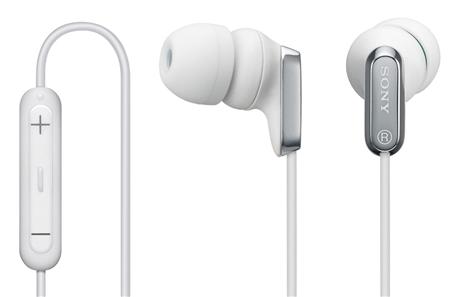 Наушники для iPod/iPhone от Sony
