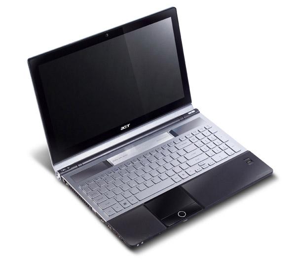 Компания Acer представила новую линейку мультимедийных ноутбуков