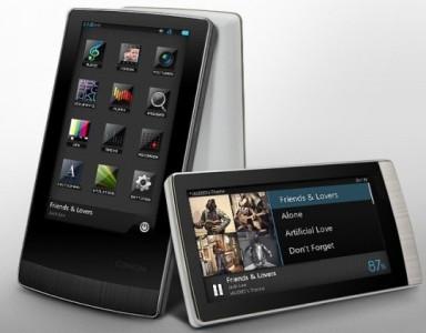 Новый портативный медиаплеер с сенсорным экраном от Cowon