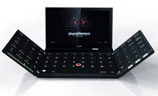 Полноценная QWERTY-клавиатура в портативном устройстве