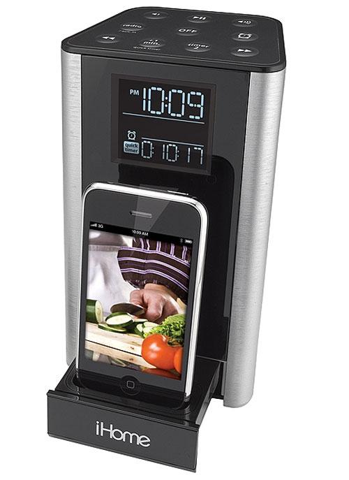Док станция iHome iP39SZC: iPhone как кухонный таймер