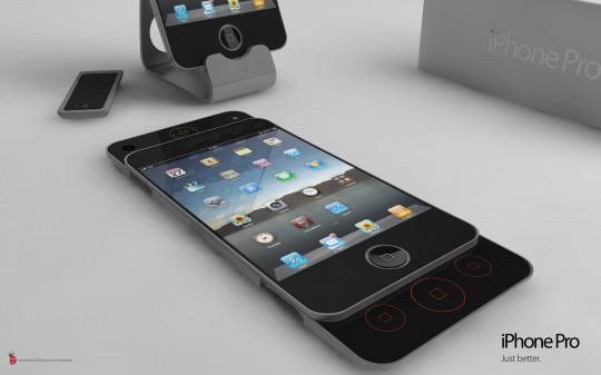 Концепт игрового смартфона iPhone Pro
