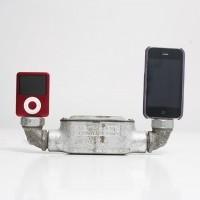 Двойная док-станция для iPod/iPhone в стиле «индастриал»