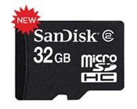 SanDisk выпускает microSDHC карту на 32 гигабайта