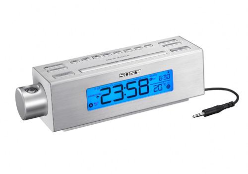 Часы Sony ICF-C717PJ проецируют время на стены или потолок