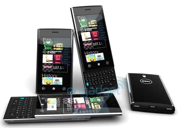 Dell Lightning - смартфон под управлением Windows Phone 7