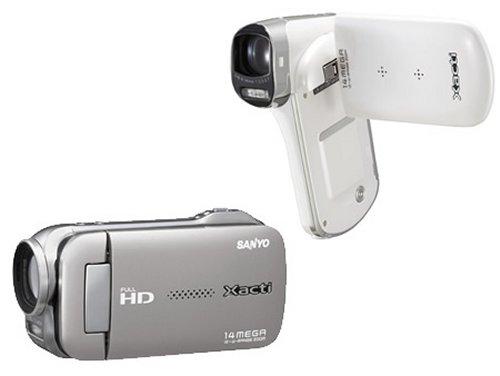 Компактные Full HD-видеокамеры от Sanyo