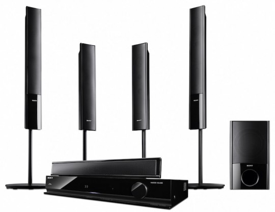 Дебют аудиосистемы HT-SF470 5.1 и саундбаров CT350 и CT150 от Sony