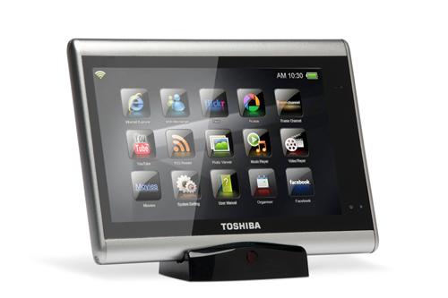 Toshiba выпустит сразу два планшетных компьютера