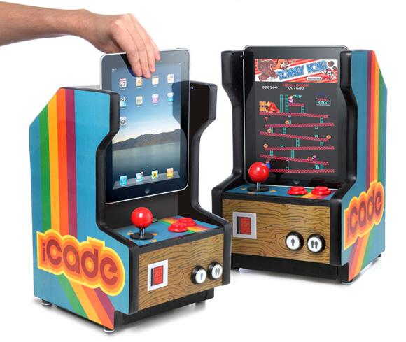 iCade превращает iPad в игровой автомат