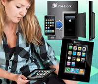 Док-станция превратит iPhone в iPad