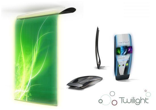 Очиститель воздуха Twilight транслирует изображения и видео из Интернета