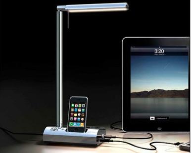 Настольная лампа-зарядное устройство t'Light