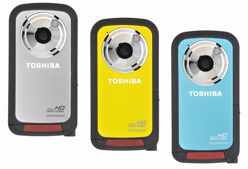 Водостойкий камкордер Camileo BW10 от Toshiba
