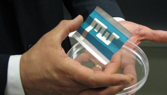 Солнечные батареи, которые можно печатать на бумаге