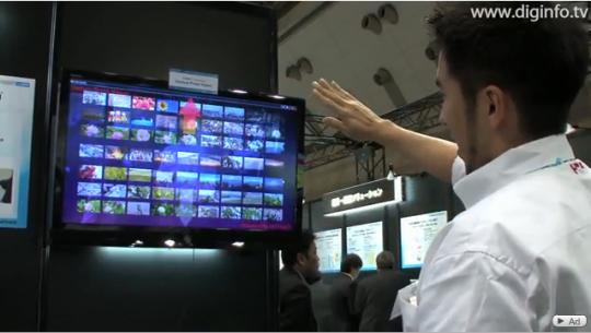 AirSwing – прототип жестового интерфейса от Toshiba