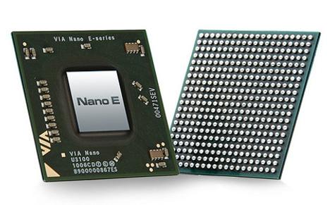 Новые процессоры Nano E - серии от VIA
