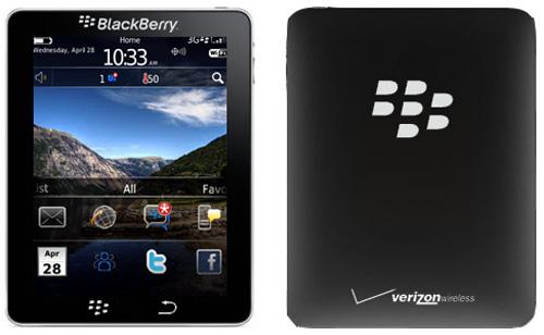 Выход планшета BlackBerry Cobalt/BlackPad намечен на 2011