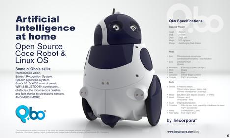Qbo – робот под управлением Linux