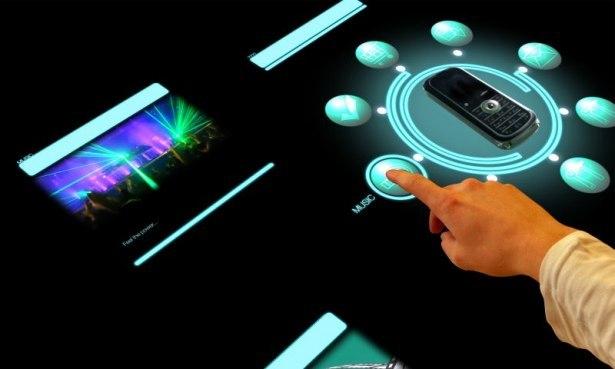 Стол Sony atracTable с поддержкой мультитач поступит в продажу в июне