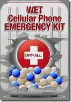 Dry-All Wet Cellphone Emergency Kit