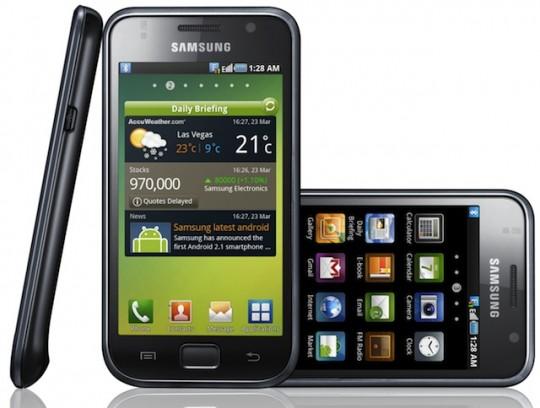 Европейский релиз Samsung Galaxy S