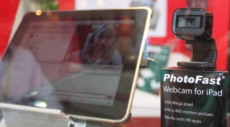 Веб-камера для iPad появится к концу года