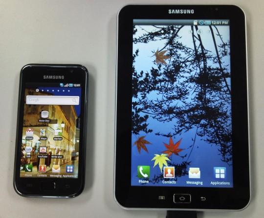 Компания Samsung выпустит три модели планшетных компьютеров