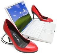 shoe USB speaker